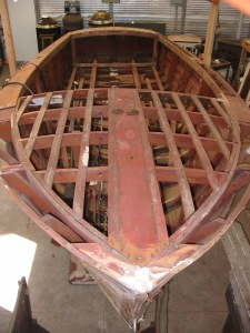 Resorter forward deck no planks