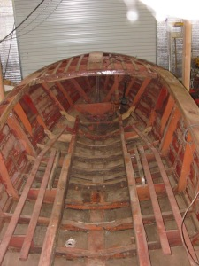 Hull with all hardware, engine, seats etc. removed